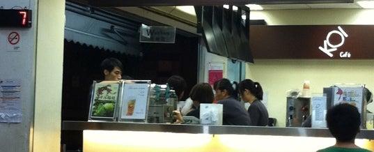 Photo taken at KOI Café by Tee D. on 9/3/2011