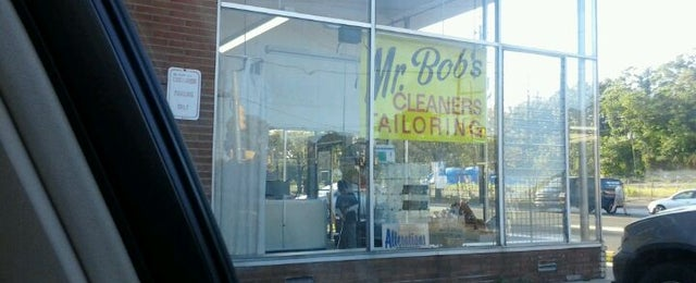Photo taken at Mr. Bob's Cleaners by David P. on 10/17/2011