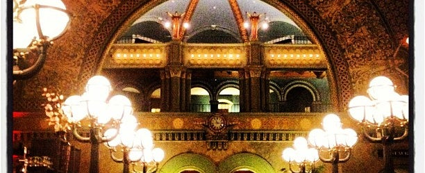 Photo taken at Grand Hall Lounge by Christopher G. on 5/6/2012