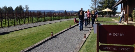 Benovia Winery is one of Wine Road Picnicking- al Fresco Perfetto!.