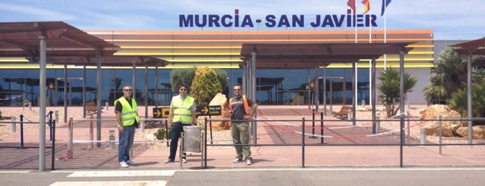 Murcia San Javier Airport (MJV) is one of bmibaby check in desks.