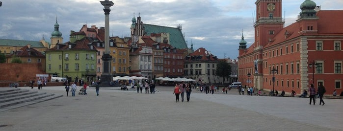 Plac Zamkowy is one of StorefrontSticker #4sqCities: Warsaw.