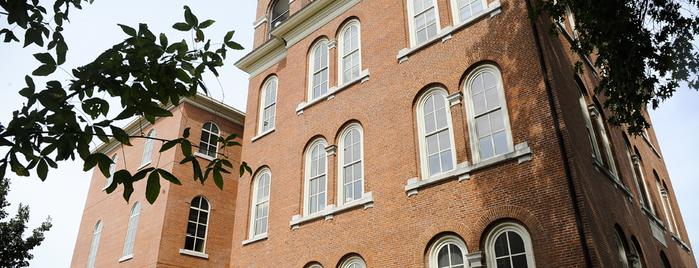 Switzler Hall is one of MU History Tour.