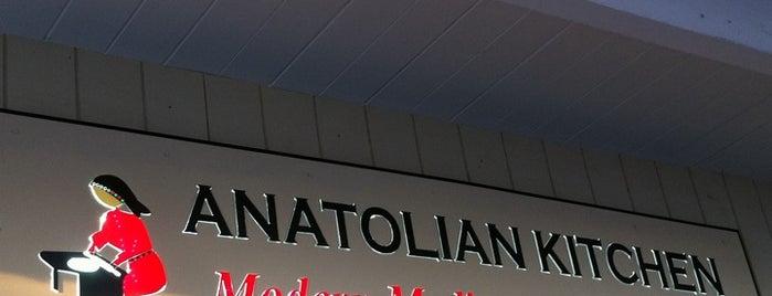 Anatolian Kitchen is one of OrderAhead Restaurants.