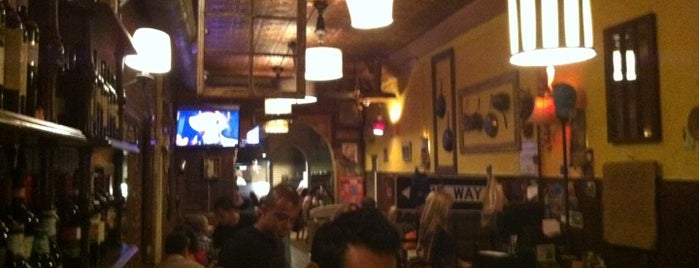 Luzzo's is one of East Village.