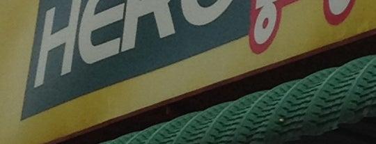 HERO Hypermarket is one of F&B.