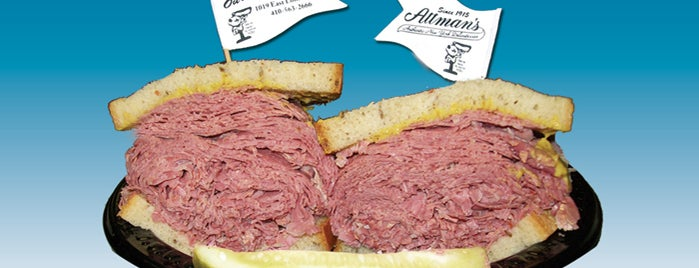Attman's Authentic New York Delicatessen is one of Stuff in Baltimore.