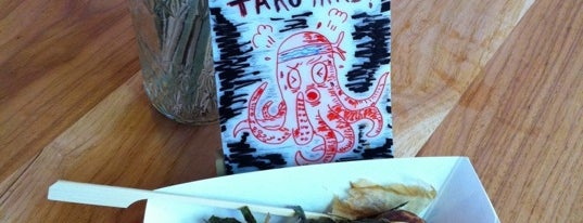Takoyaki Yum (Temescal Farmers' Market - Sundays) is one of East Bay Asian Eats.