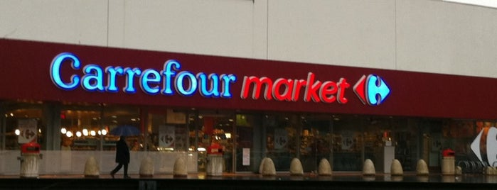 Carrefour market is one of PdV.