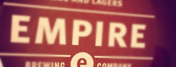 Empire Brewing Company is one of A Tour Guide to Syracuse.