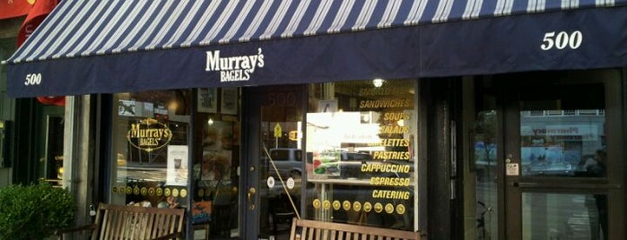 Murray's Bagels is one of NY Bagels to Try.