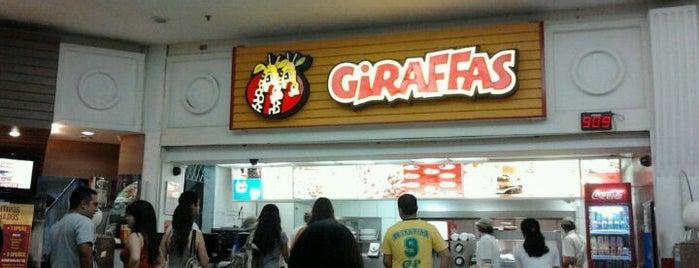 Giraffas is one of Top 10 favorites places in Campina Grande, Brasil.