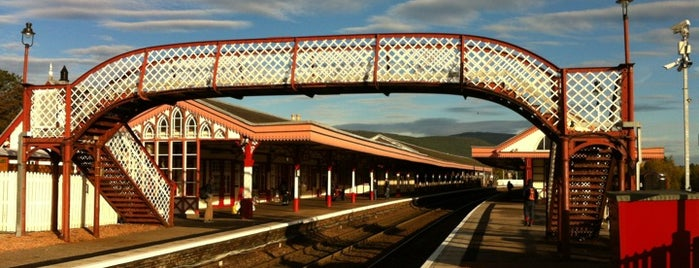 Aviemore Railway Station (AVM) is one of East Coast Network.