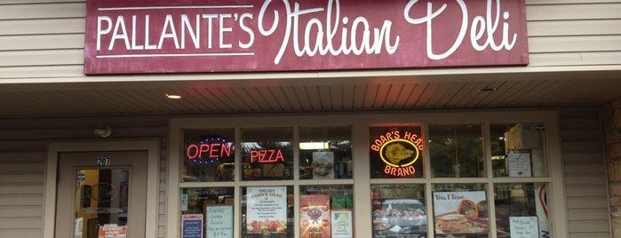 Pallante's Italian Deli is one of Authentic Philadelphia Hoagies.