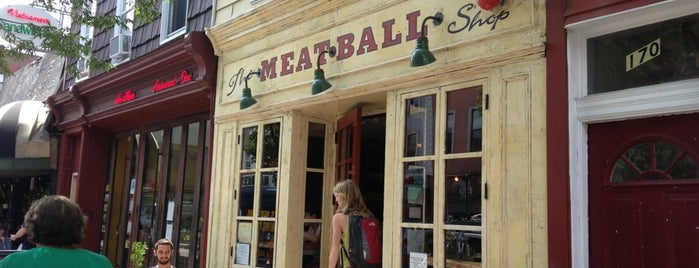 The Meatball Shop is one of to do New York.
