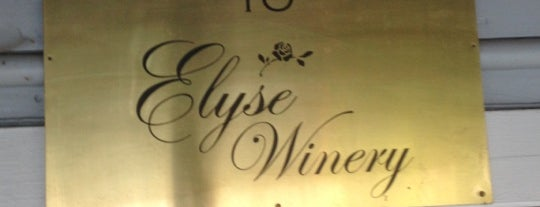 Elyse Winery is one of Napa Valley Day Trip.