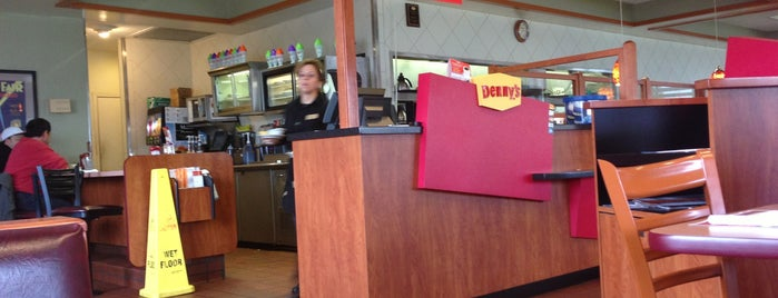 Denny's is one of favorites.