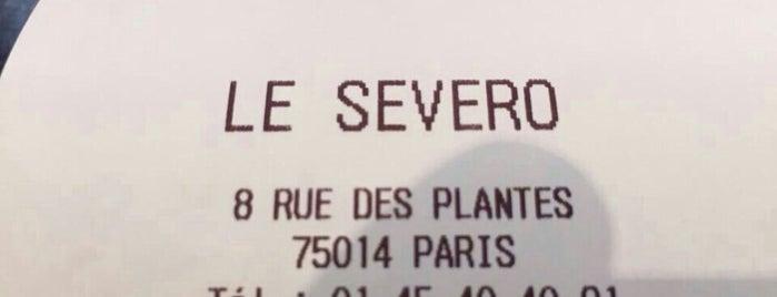 Le Severo is one of Lloyd's Paris.
