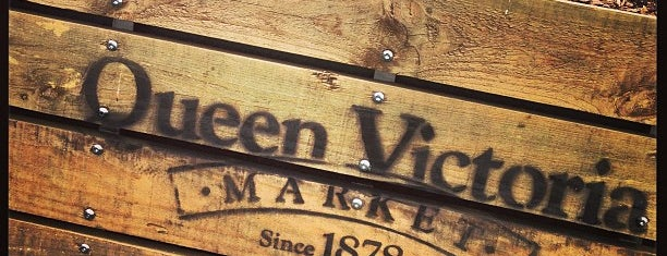 Queen Victoria Market is one of All-time favorites in Australia.