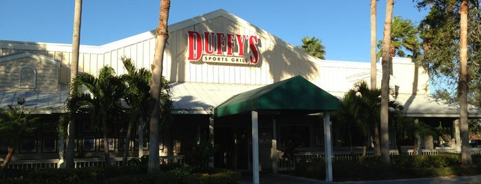 Duffy's Sports Grill is one of Peewee's Big Ass South Florida Food Adventure!.