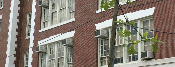Newcomers High School is one of NYC Hurricane Evacuation Centers.