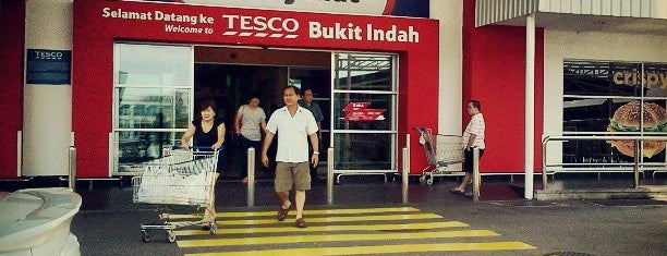 Tesco is one of Shopping Paradise.