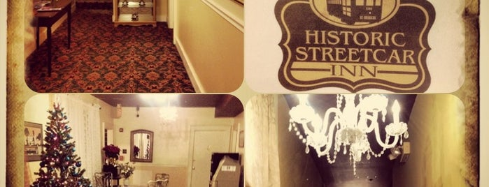 Historic Streetcar Inn (Formerly the Avenue Garden Hotel is one of Interesting info, etc.
