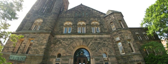 Altgeld Hall is one of Frequented.