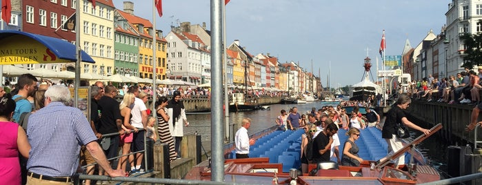 København's City boat is one of Denmark.