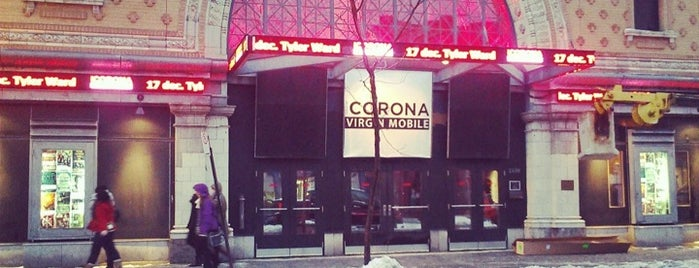 Théâtre Corona Virgin Mobile is one of Montreal City Guide.