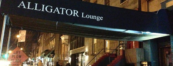 Alligator Lounge is one of My Favorite Bars.