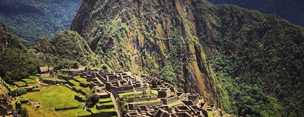 Machu Picchu is one of Maravillas del mundo.