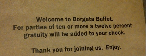 Borgata Buffet is one of WATER CLUB & BORGATA.
