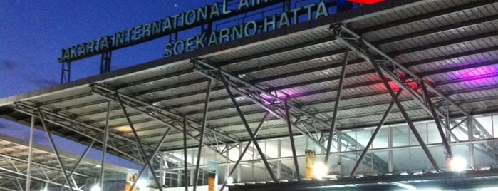 Terminal 3 is one of Soekarno Hatta International Airport (CGK).