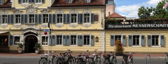Messerschmidt Hotel is one of Bamberg #4sqCities.