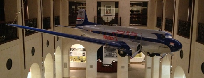 SFO Aviation Library and Museum is one of Favorite Arts & Entertainment.