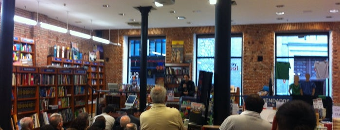 Libreria Oletum is one of Pucela imprescindible.