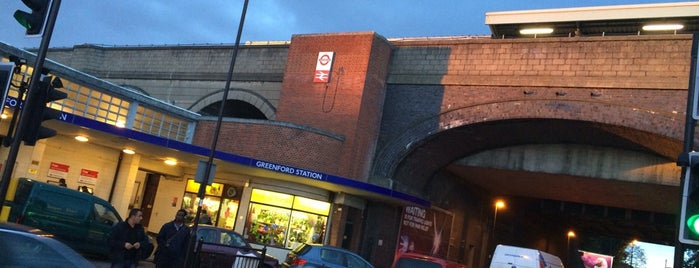 Greenford London Underground Station is one of Tube Challenge.