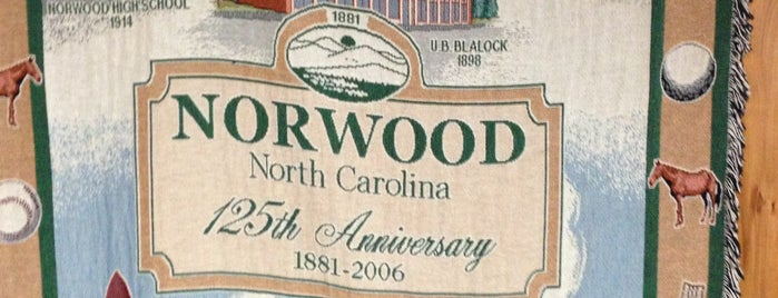 Norwood, NC is one of North Carolina.