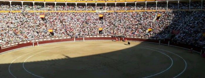 Plaza de Toros de Las Ventas is one of Conoce Madrid.