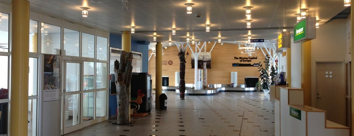 Gällivare Lapland Airport (GEV) is one of Airports - Sweden.