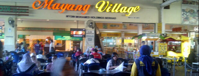 Mayang Village Foodcourt is one of F&B.