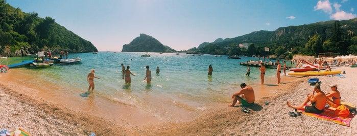 Παραλία Παλαιοκαστρίτσας (Palaiokastritsa Beach) is one of Gerasimos's Tips.