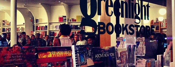 Greenlight Bookstore is one of to do New York.