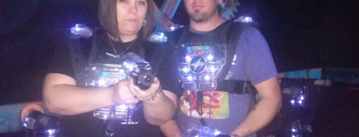 Area 21 Laser Tag is one of Houston Trip 2011.