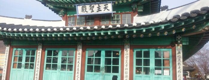 대한성공회 강화성당 is one of Korean Early Modern Architectural Heritage.