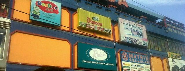 Saga Supermarket is one of Napak Tilas Perjalanan N9.