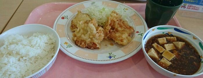 ビッグさんど地下食堂 is one of 九大.