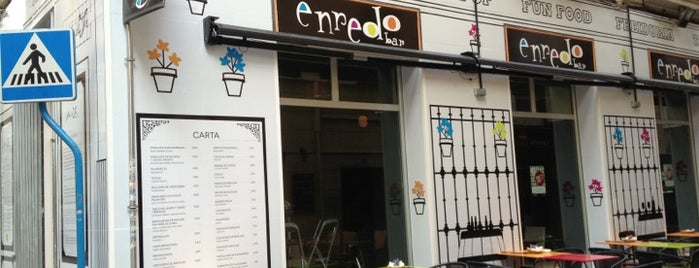 Enredo Bar is one of Restaurantes!!.