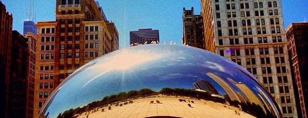 Cloud Gate ('The Bean') is one of Chicago To Do's.